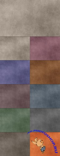 Grunge Texture with 11 Colors