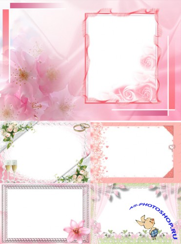 New Collection of Photo frames for Valentine's Day pack 4