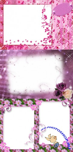 New Collection of Photo frames for Valentine's Day pack 1