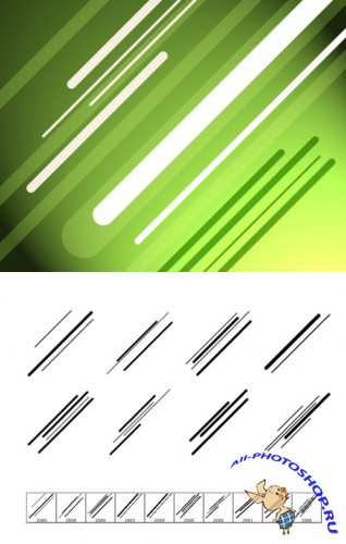 Brushes Set - Diagonal Dynamics