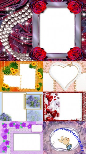 New Collection of Photo frames for Valentine's Day pack 13