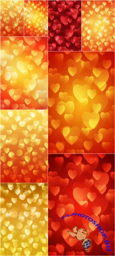Love Bokeh backgrounds