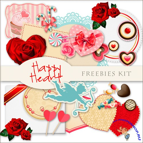 Scrap-kit - Happy Heart