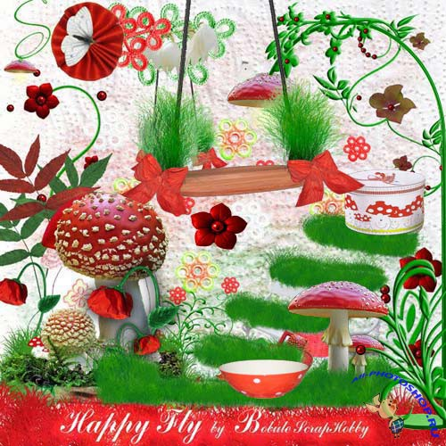 Happy Fly Agaric - ���������� �������