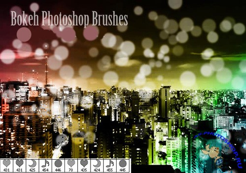 Boken Photoshop Brushes for Photoshop