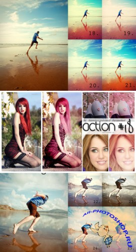 Cool Photoshop Action pack 269