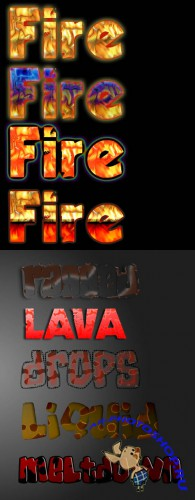 Fire Photoshop Layer Style