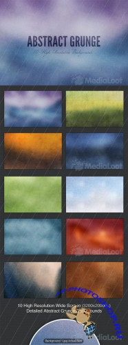 Abstract Grunge Backgrounds - MediaLoot