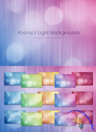 Abstract Light Backgrounds - MediaLoot