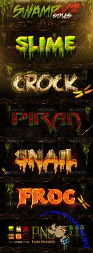GraphicRiver - Swamp Styles V2