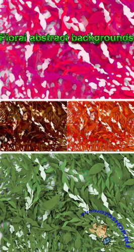 Floral Abstract Backgrounds for Photoshop