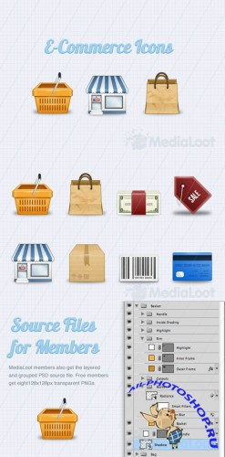 Free E-Commerce Icons - MediaLoot