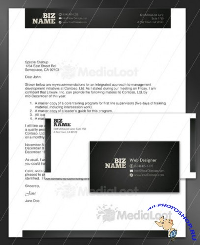 Flashy Corporate Identity Pack - MediaLoot