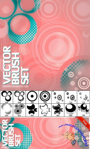 Vector Brush Set for Photoshop