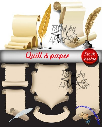 Quill & paper  ���� � ������
