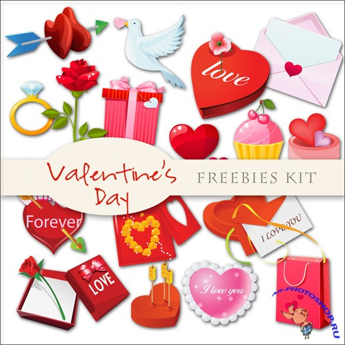 Scrap-kit - Valentines Day