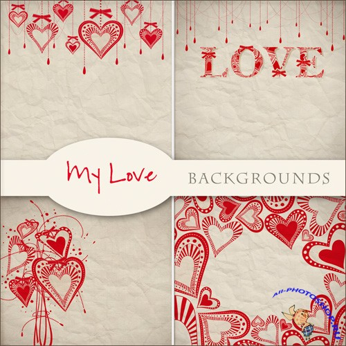Textures - Love Backgrounds #2