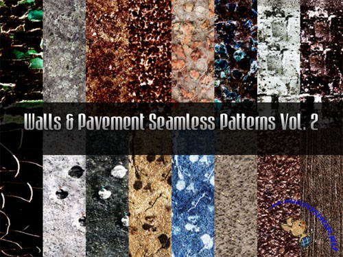 Walls and Pavement Seamless Patterns Vol.2