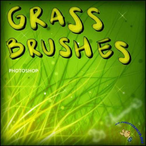 Grass Brushes Set for Photoshop