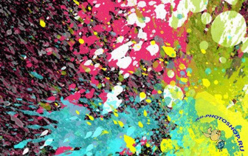 Color Explosion Brushes for Photoshop