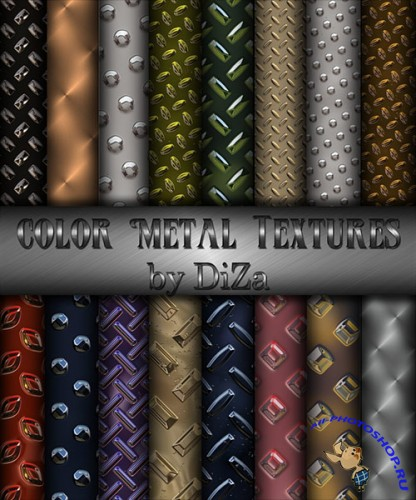 Color Metal Textures