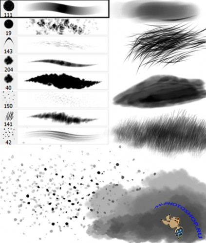 Random Photoshop Brush Set 2 for Photoshop