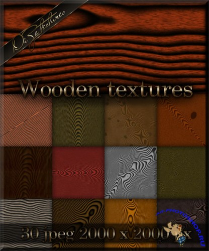 Wooden textures for Photoshop