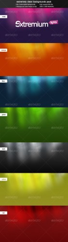 GraphicRiver - Extremium Lights - extremely clean background pack 87875