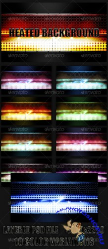 GraphicRiver - Heated Background. 102505