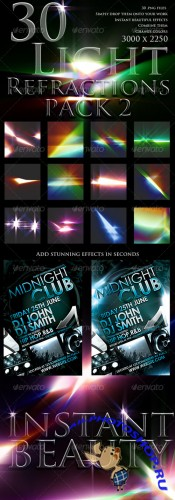 GraphicRiver - 30 Light Refractions Pack 2 104776