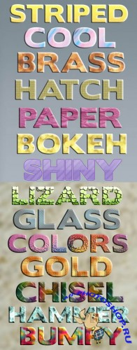 Creative Text Styles for Photoshop