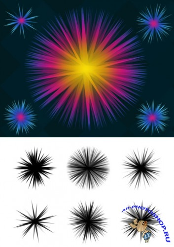 Superstar Brushes Set for Photoshop