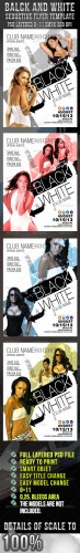 GraphicRiver - Black White Seductive