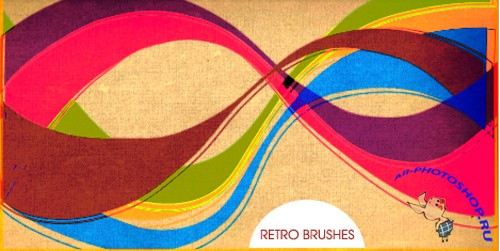 Retro Brushes Set for Photoshop