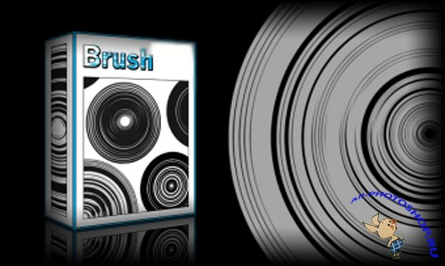 Tech Circles Brushes Set for Photoshop