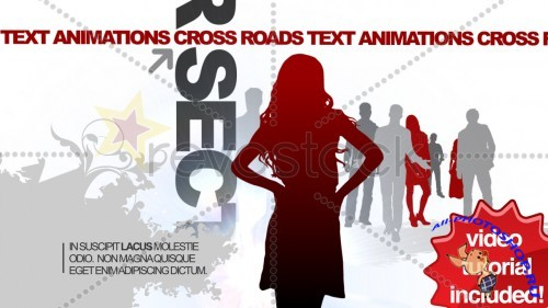 Revostock - CrossRoads Text Animations 42899 - Projects for After Effects