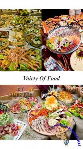 Variety of food on the table