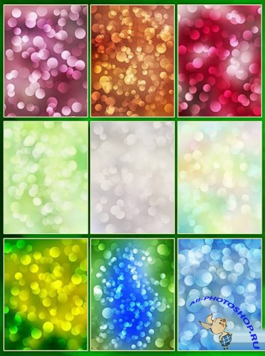 Bokeh backgrounds - color mix 2