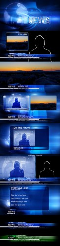 Videohive - Broadcast Design - News Package 126180 - Projects for After Effects