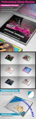 GraphicRiver - Professional Album Mockup 269647