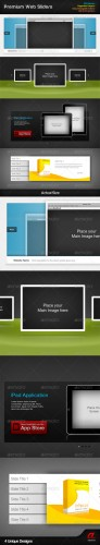 GraphicRiver - Premium Web Sliders 298522