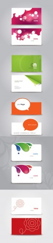 Business Cards Vector Collection Pack 3 for Photoshop