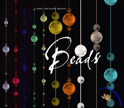 Beads Brushes Set for Photoshop