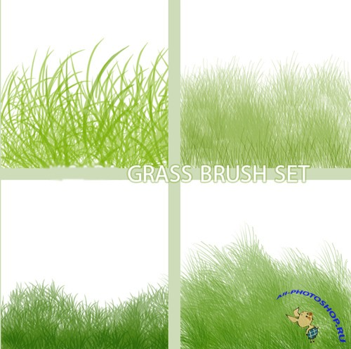 Grass Set Brushes for Photoshop