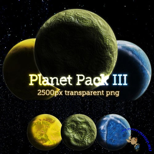 PNG Clipart - Planet Pack 3