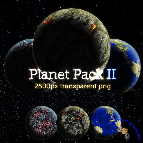 PNG Clipart - Planet Pack 2