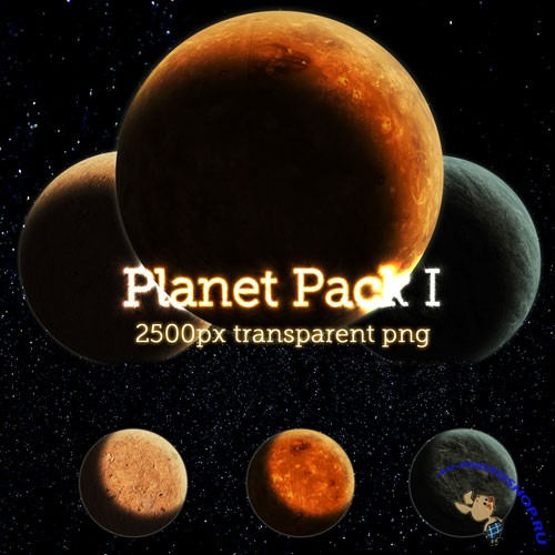 PNG Clipart - Planet Pack 1