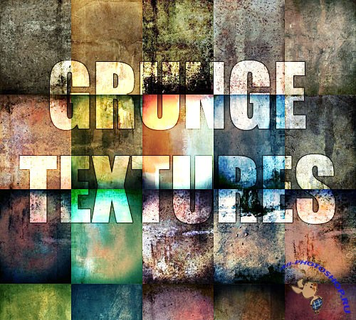 20 Grunge Textures Pack