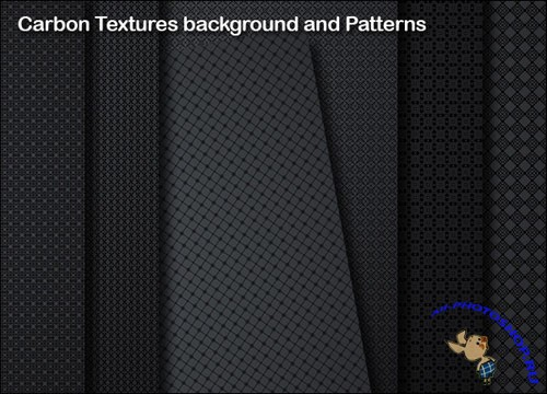 Dark Carbon Textures and Backgrounds