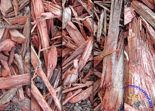 Textures - Red Wood Chip